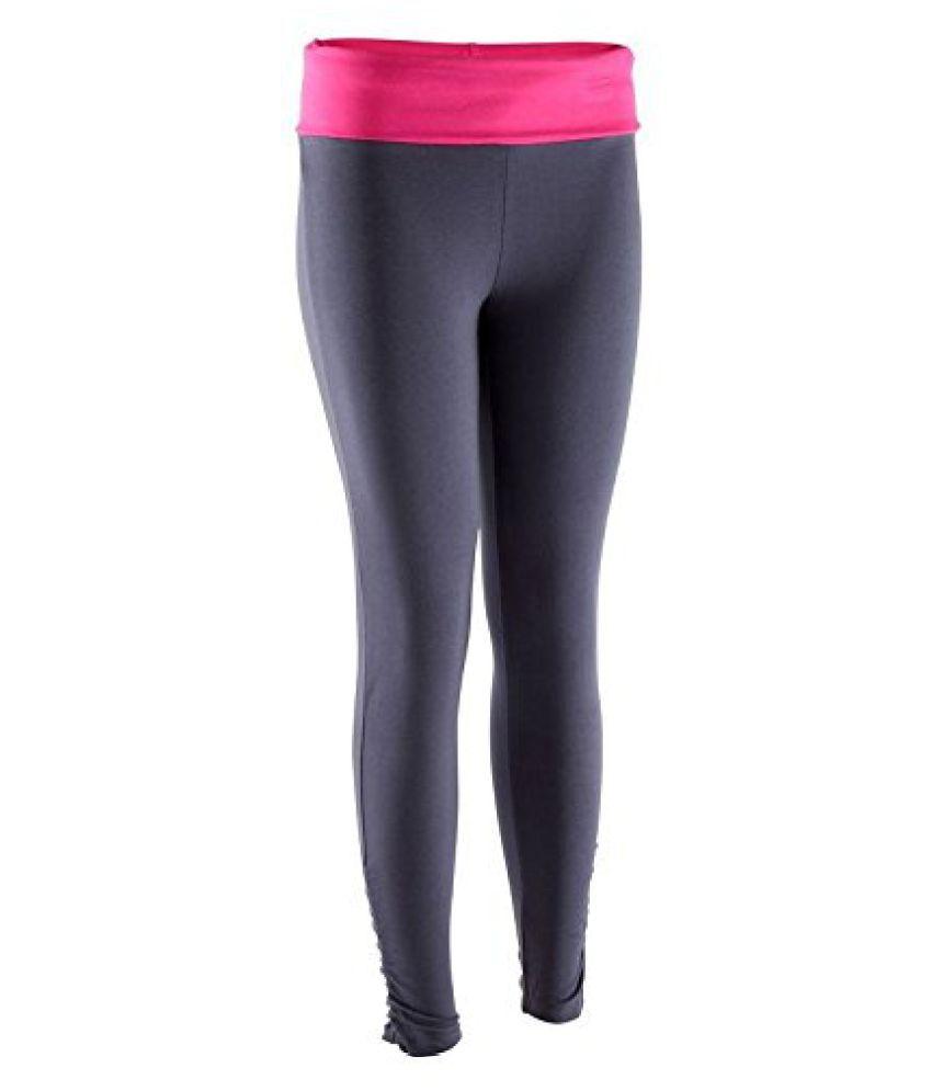 Domyos Organic Cotton Legging Pink - Size XXL