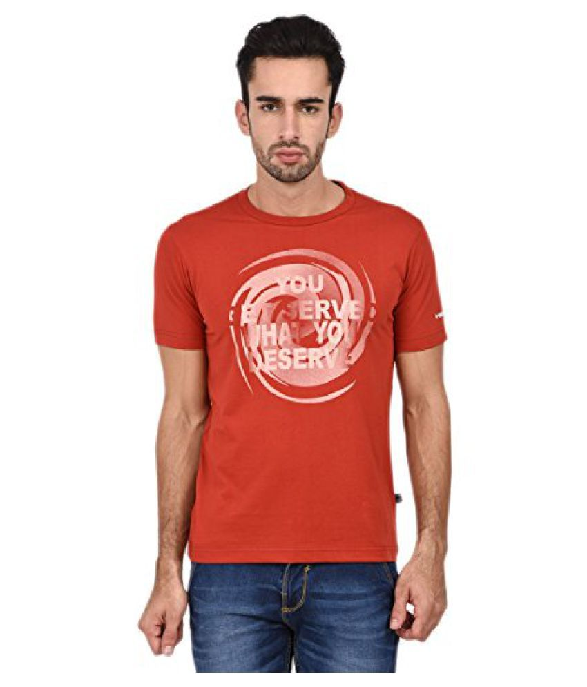 Head HCD-250 Round Neck Red/ White Size - S