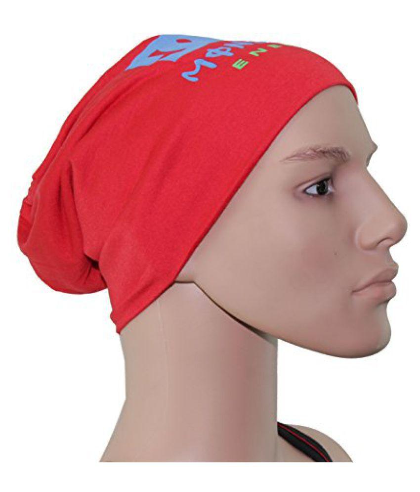 Red Beanies Skull Cap For Men