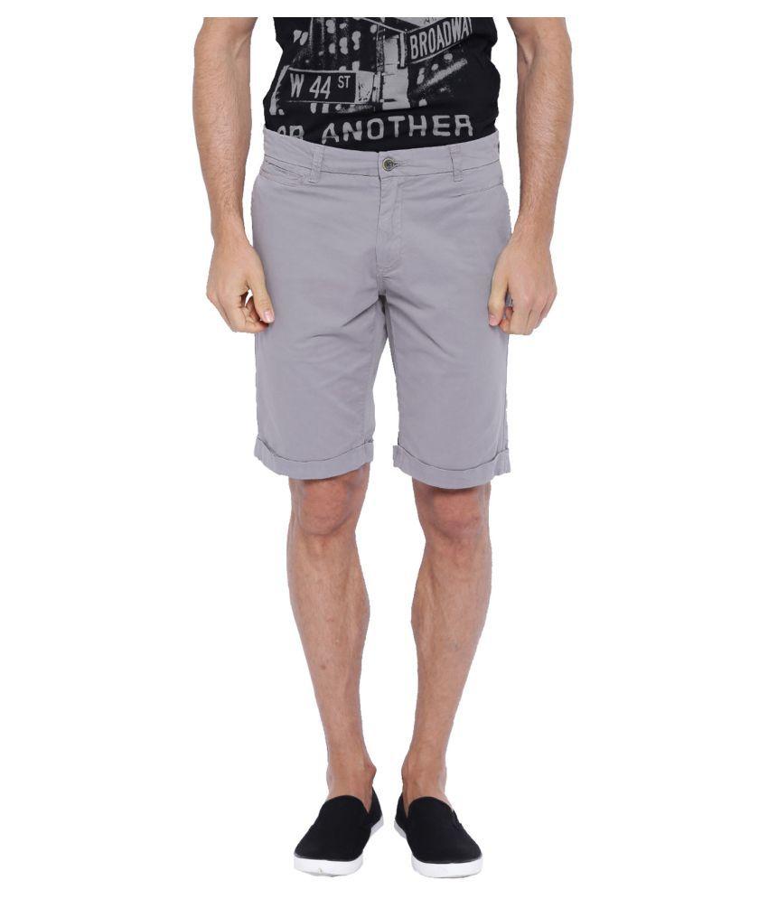 Showoff Grey Shorts
