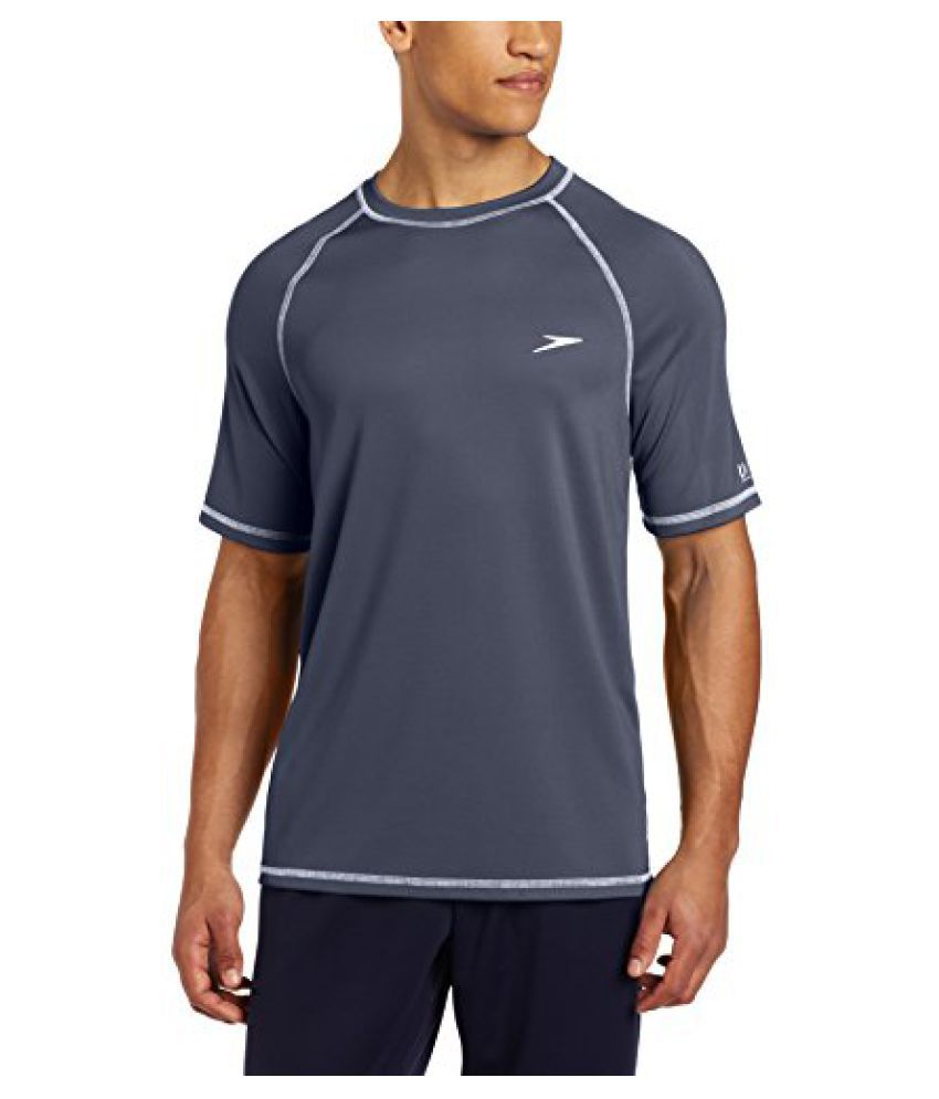 Speedo Men s UPF 50 Short-Sleeve Rashguard