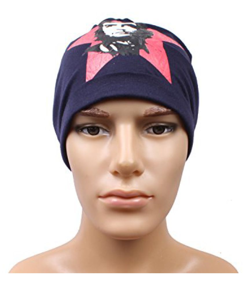 Sushito Stylish Navy Blue Beanies Cap