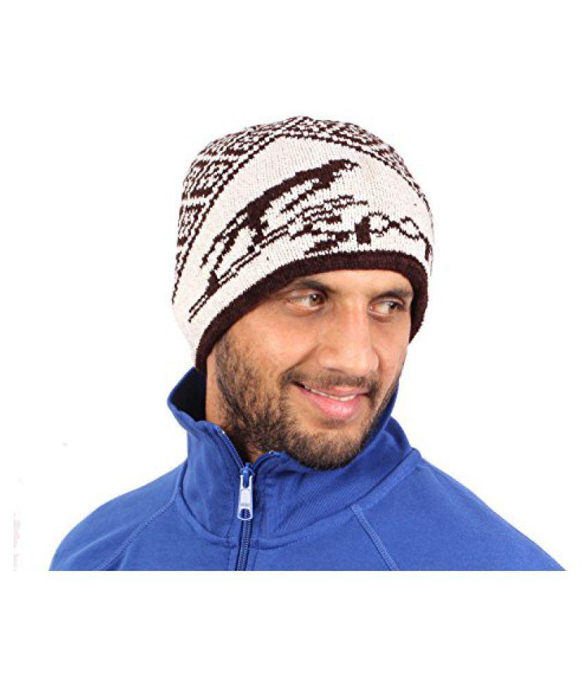 Sushito Stylish Warm Woolen Unisex Cap
