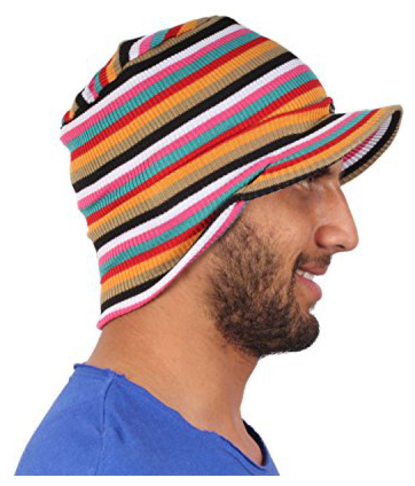 Sushito Trendy Multi Colour Beanies Cap