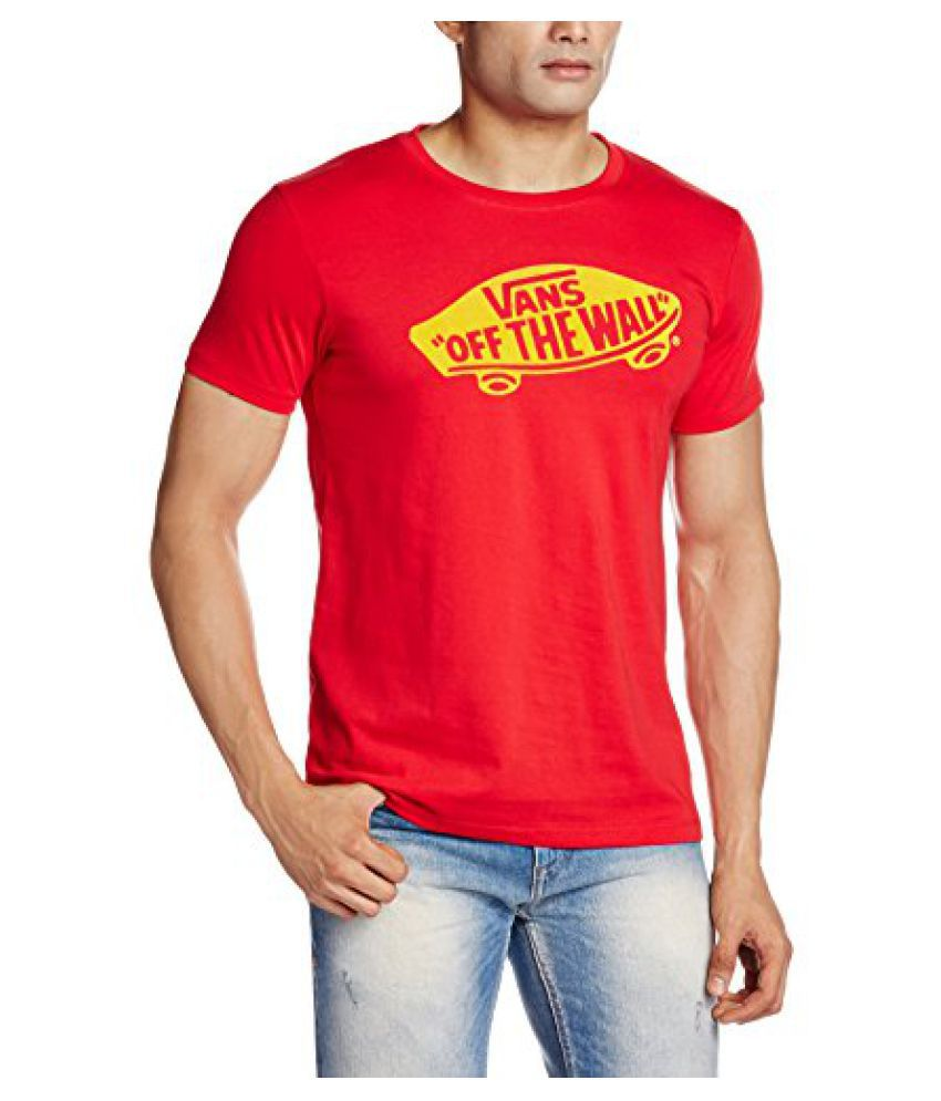 Vans Mens Round Neck Tees