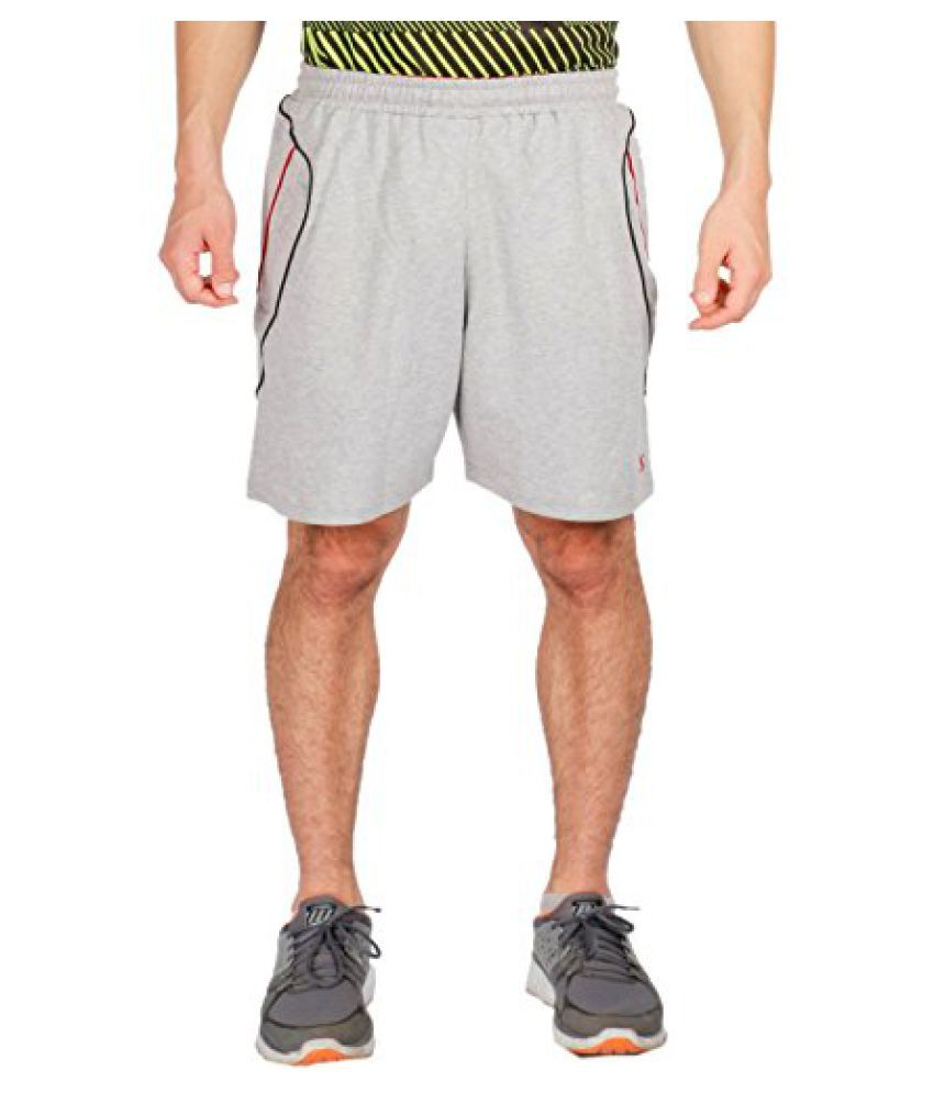 Vector X VS-2500-E Men's Shorts (LIGHT-GREY)