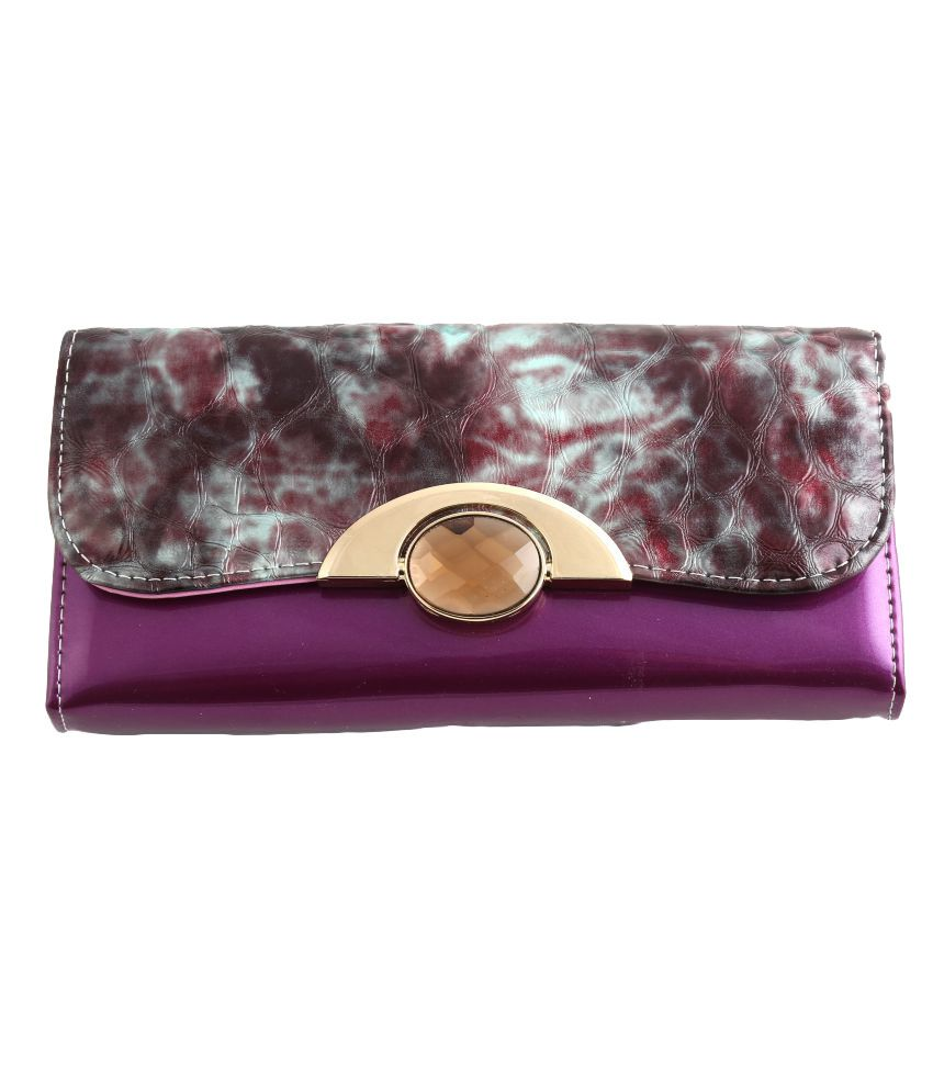 YBC Purple Wallet