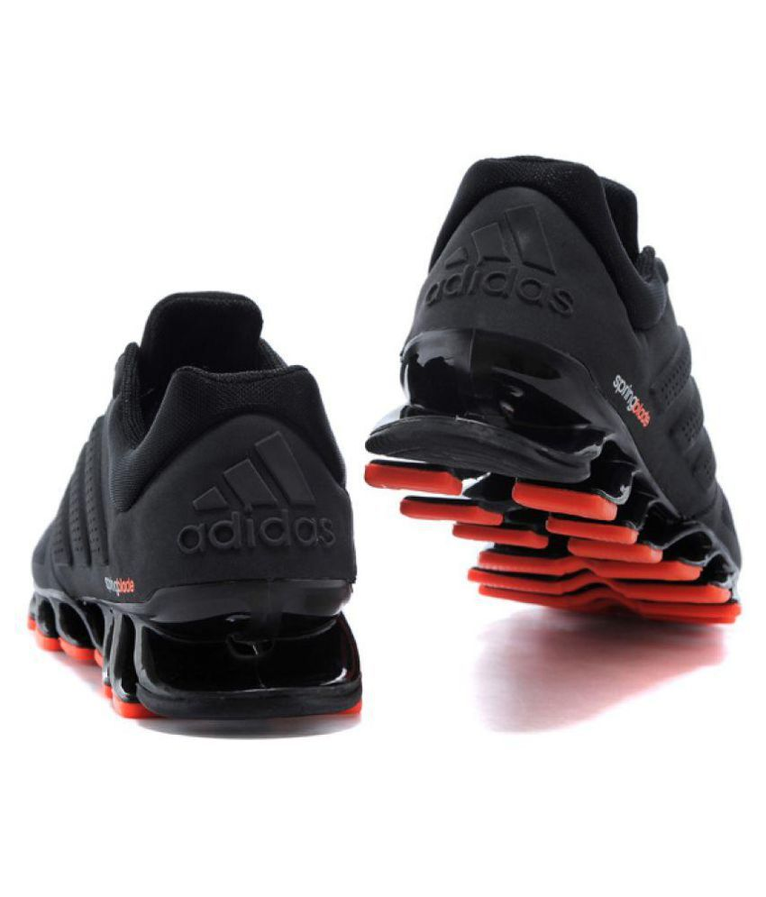 huge discount e9766 9a126 ... Adidas Springblade Drive M2 Running Shoes Black ...