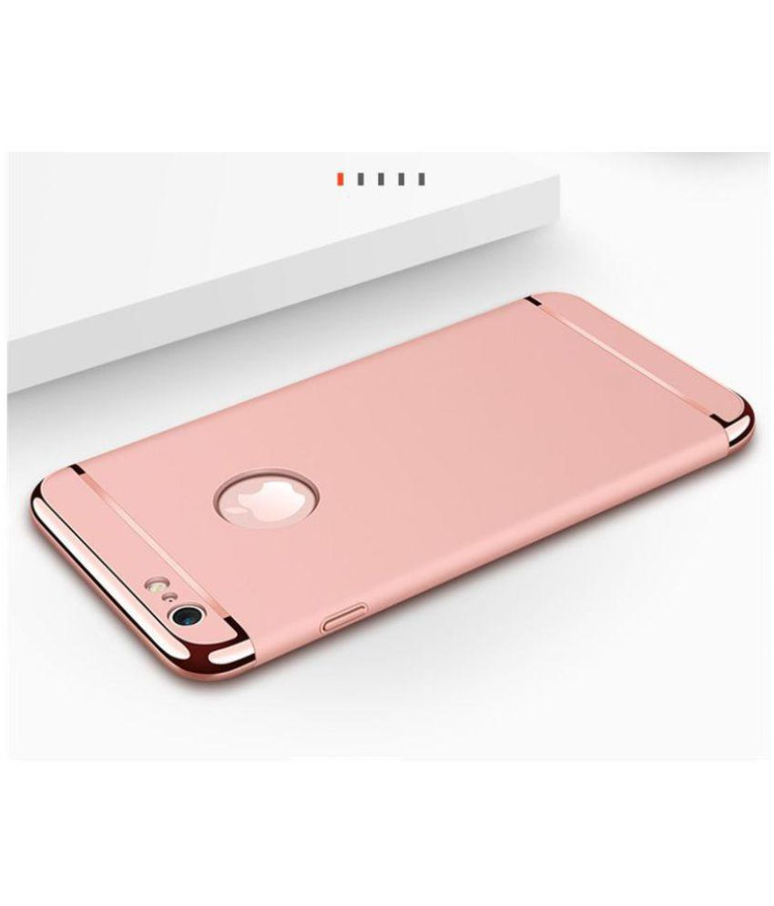 new concept 6b148 fc9e9 Apple iPhone 6S Plus Bumper Cases BIGZOOK - Rose Gold