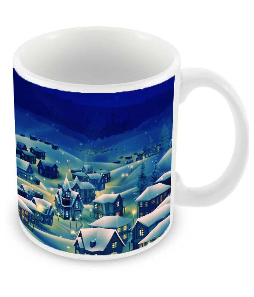 Mukesh Handicrafts Ceramic Coffee Mug 1 Pcs 325 ml