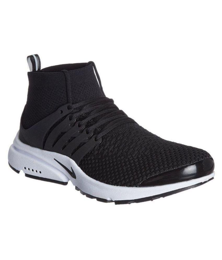 Nike Air Presto Black Running Shoes