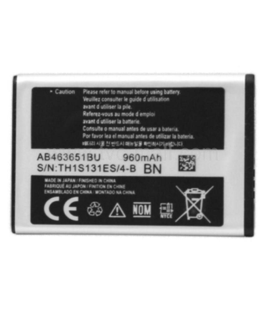 Samsung Guru Music 2 Sm B310e 960 Mah Battery By Megatel Batteries
