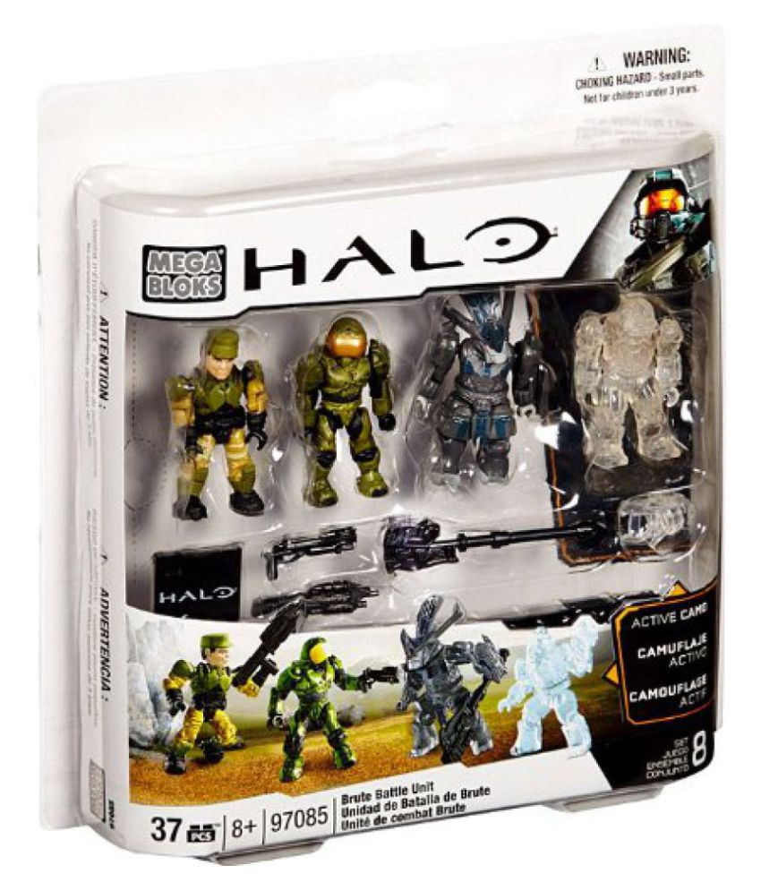 2013 Halo Mega Bloks Set #97085 Brute Battle Pack [Combat Unit]