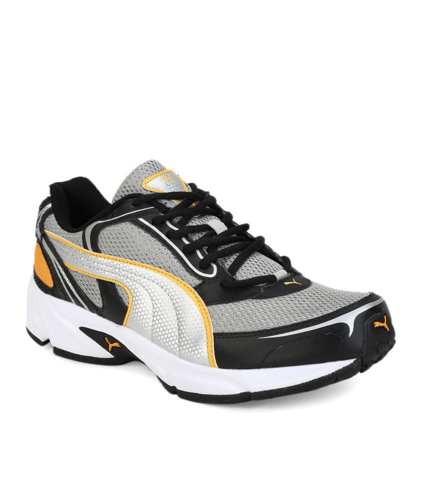 Puma Aron Ind. Gray Running Shoes