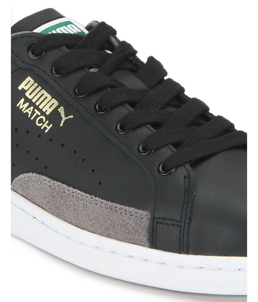 57bb186b7e9 Puma Match 74 UPC Black Casual Shoes - Buy Puma Match 74 UPC Black ...