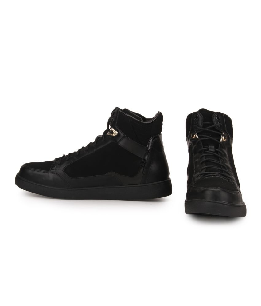 558357d51b32 Carlton London CLM-1366 Sneakers Black Casual Shoes - Buy Carlton ...