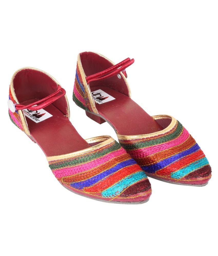 Decot Paradise Multi Color Block Heels