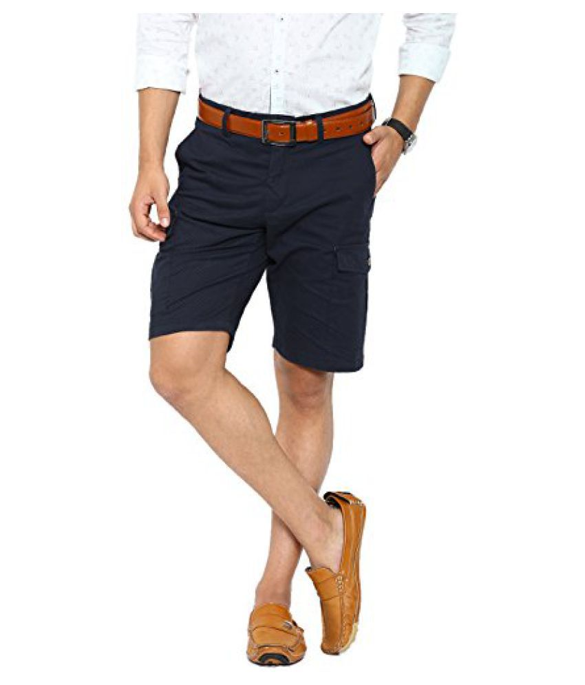 Showoff Mens Casual Slim Fit Ankle Length Shorts