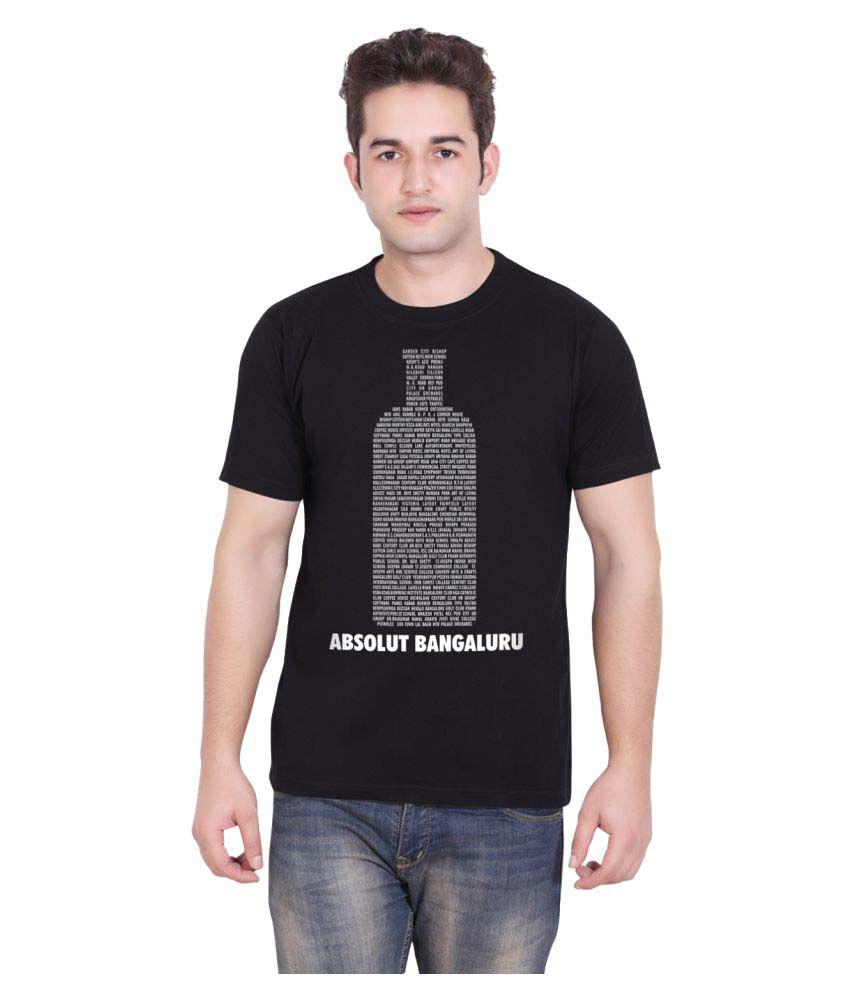 Tantra Black Round T-Shirt
