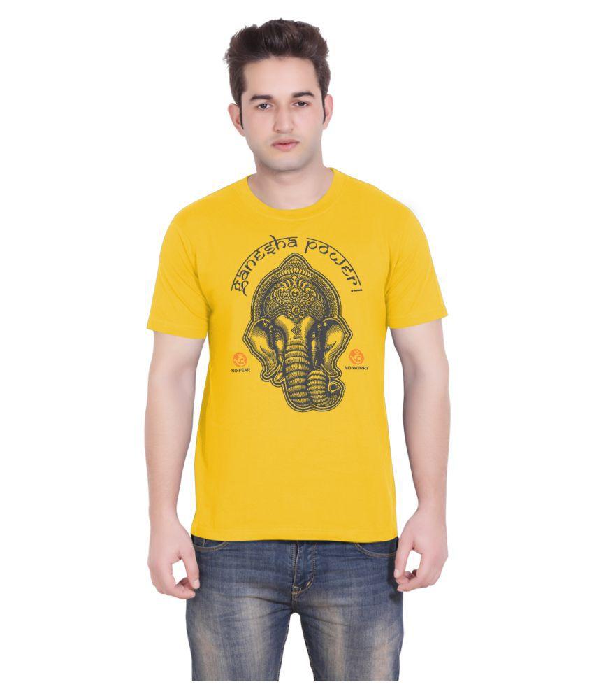Tantra Yellow Round T-Shirt