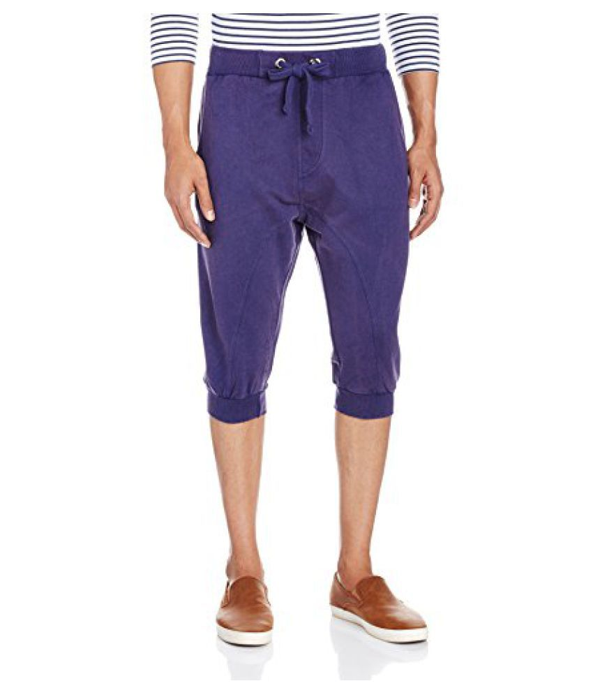 People Men's Cotton Shorts