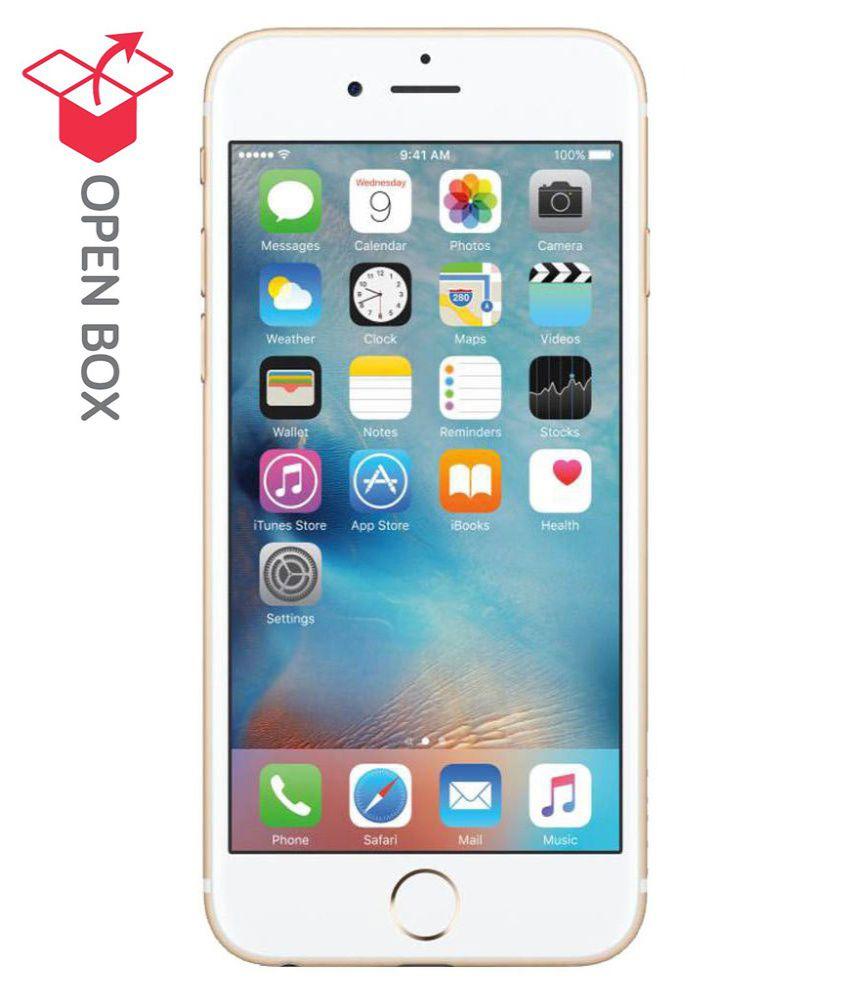 open box apple iphone 6s 64gb golden refurbished mobiles. Black Bedroom Furniture Sets. Home Design Ideas