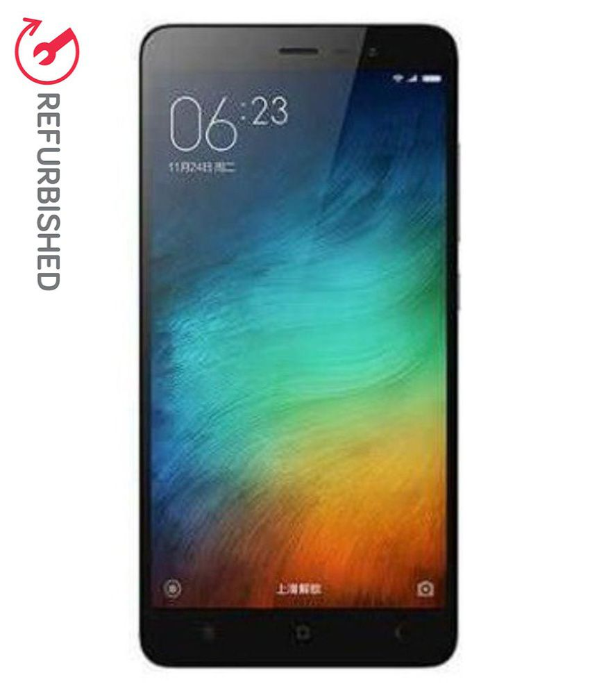 REFURBISHED Xiaomi Redmi Note 3 16  GB  Gray available at SnapDeal for Rs.9999