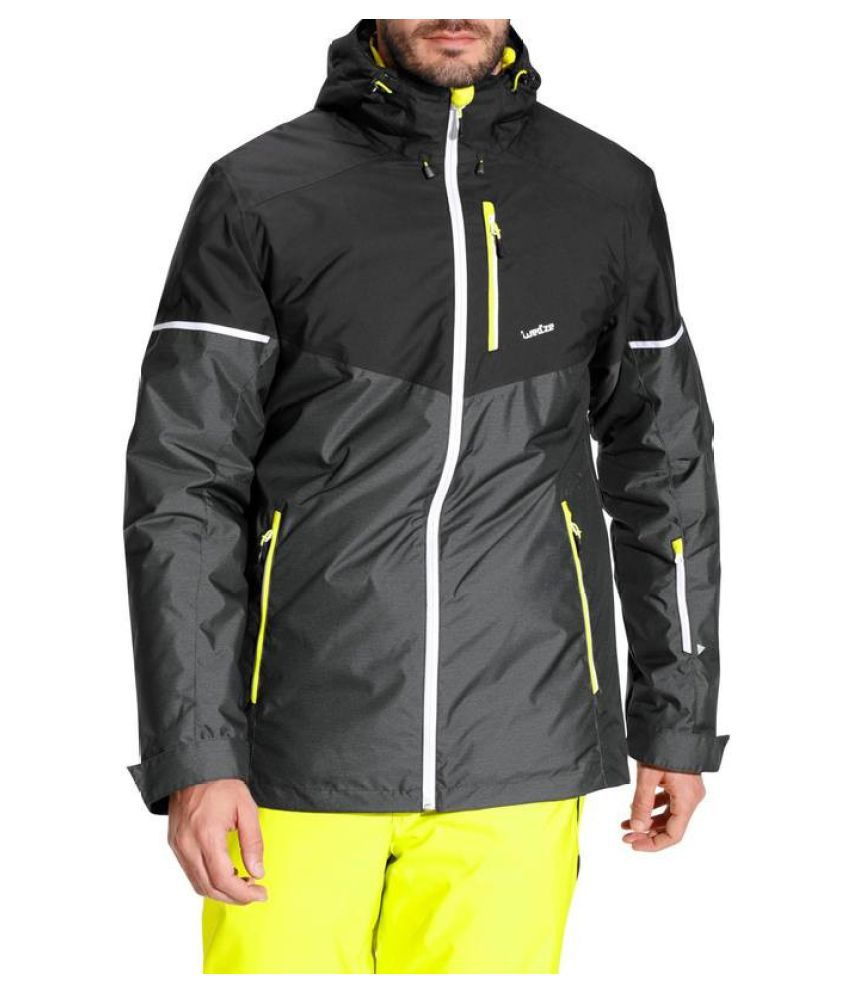 WEDZE Polyester Waterproof Warm Ski Jacket