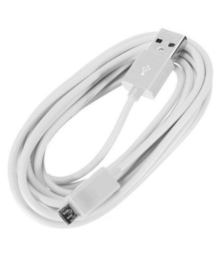 AM Diamond USB Data Cable White - 1 Meter