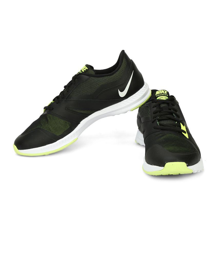 5d47bf00f41 Nike AIR EPIC SPEED TR Black Training Shoes - Buy Nike AIR EPIC ...