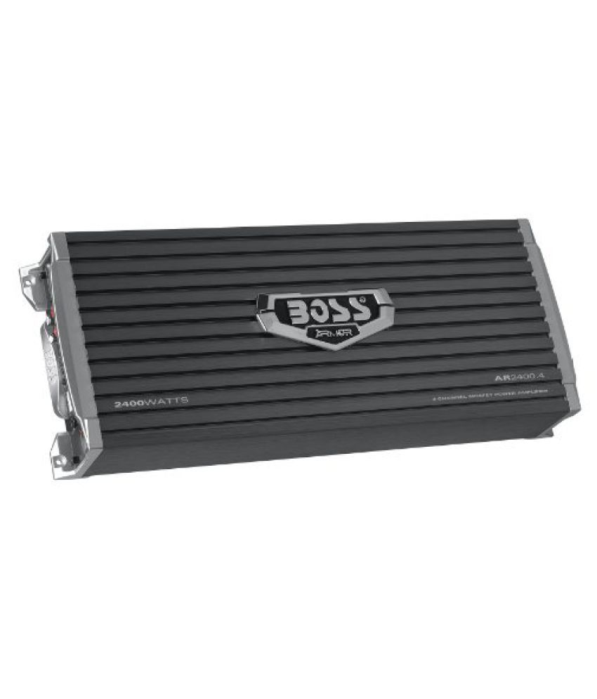 Boss Audio Systems Armor 2400 Watts 4-Channel MOSFET Power Amplifier (AR2400.4)