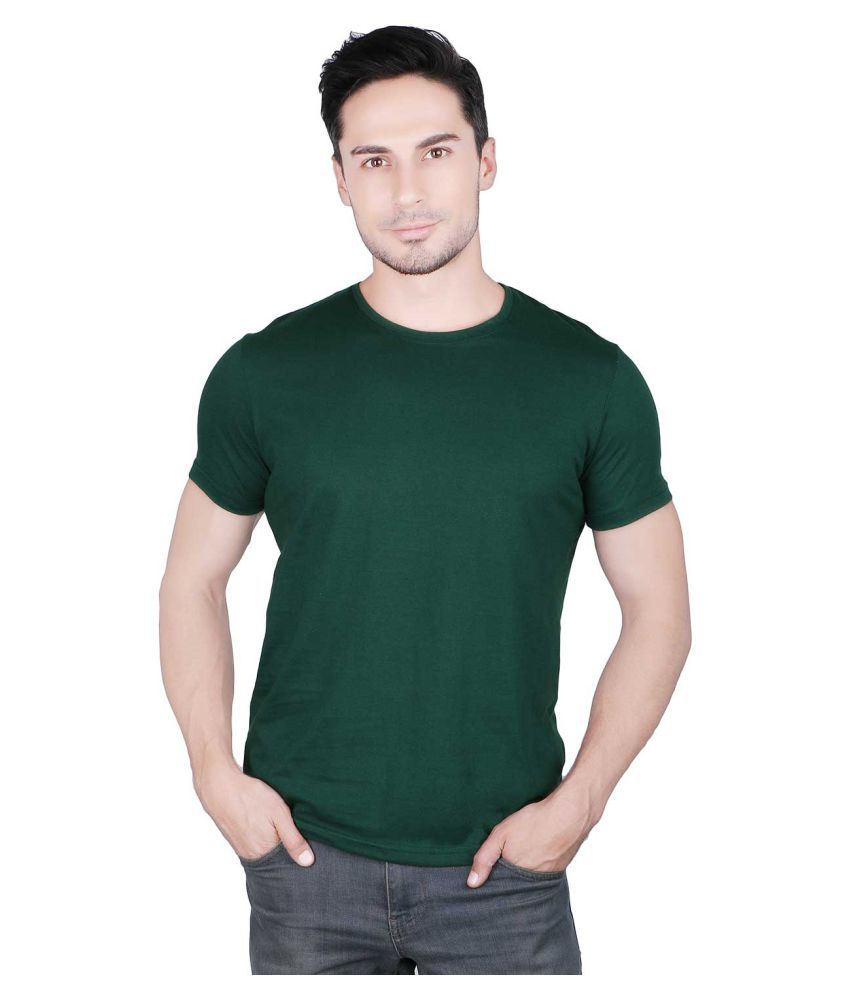 Prinlay Green Round T-Shirt