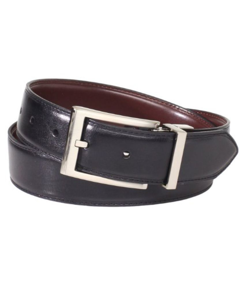 Geoffrey Beene Men's Stitched Edge Belt