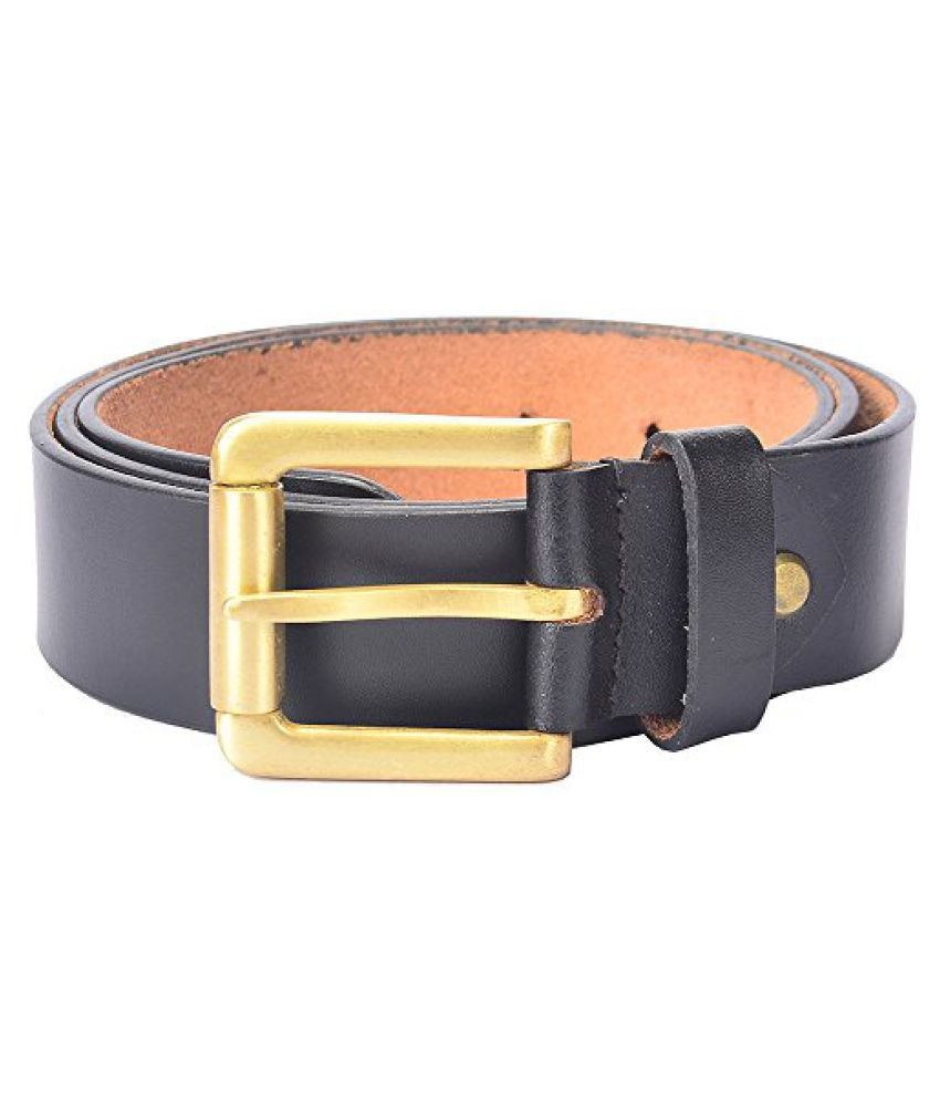 Hidelink Unisex Leather Belt (SP8091, Brown, 34)
