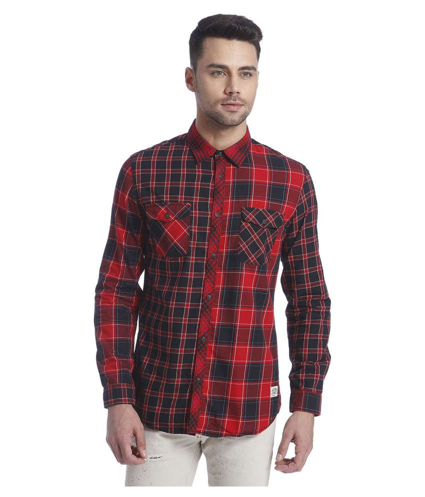 Jack & Jones Multi Casuals Slim Fit Shirt