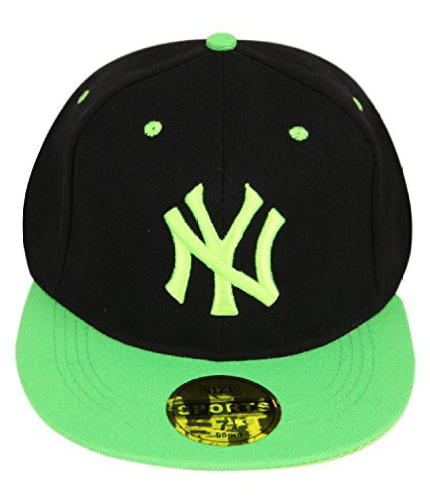 ILU NY Imported Snapback Hip Hop Baseball Skull Running Walking Sports Athletic Cricket Basketball Workout Cycling Bike Stylish Fashion Flex Fit Free Size Unisex Caps