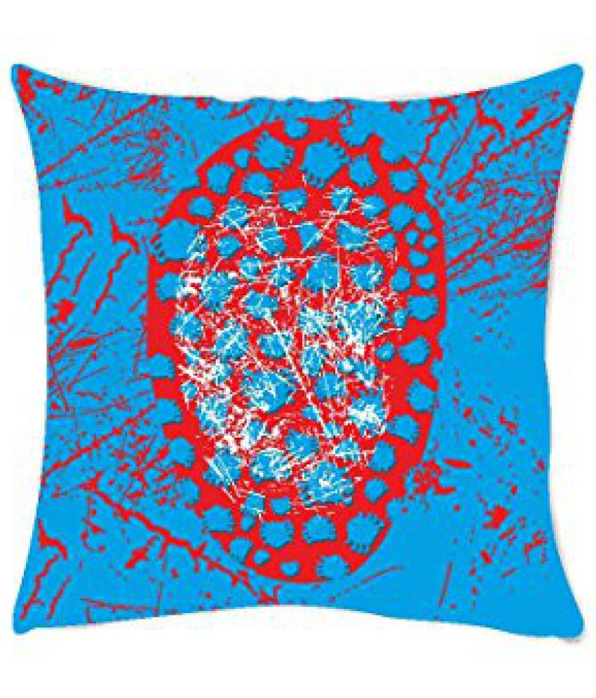 Marvel Spider Mask Square Stretch Polyester Cushion Cover - 16