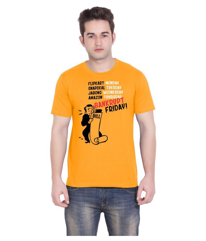 Tantra Orange Round T-Shirt