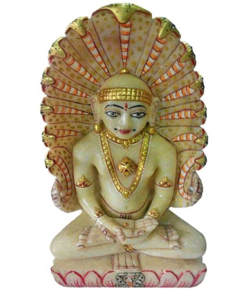 Sakshi Lord Parshwanath Aventurine Idol