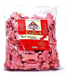 Nootie Real Chicken And Strawberry Cookie- 1 Kg Pack