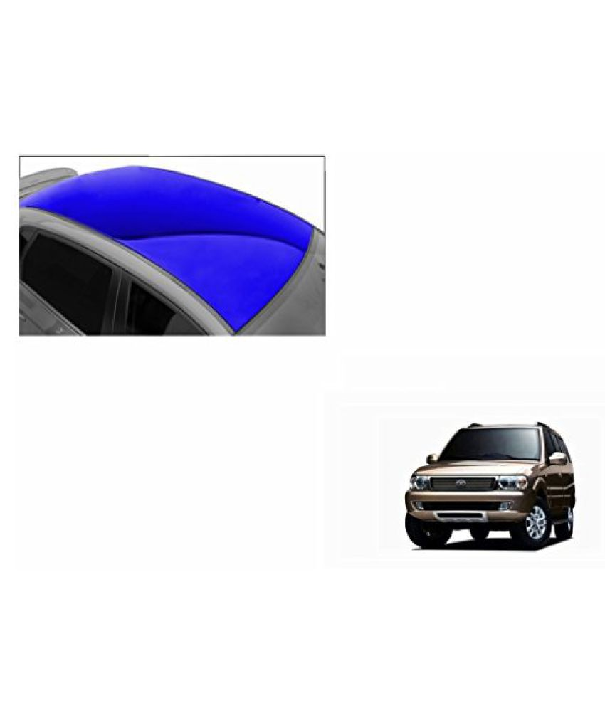 Speedwav Car Roof Glossy Wrap Sheet Blue-Tata Safari Dicor 2.2