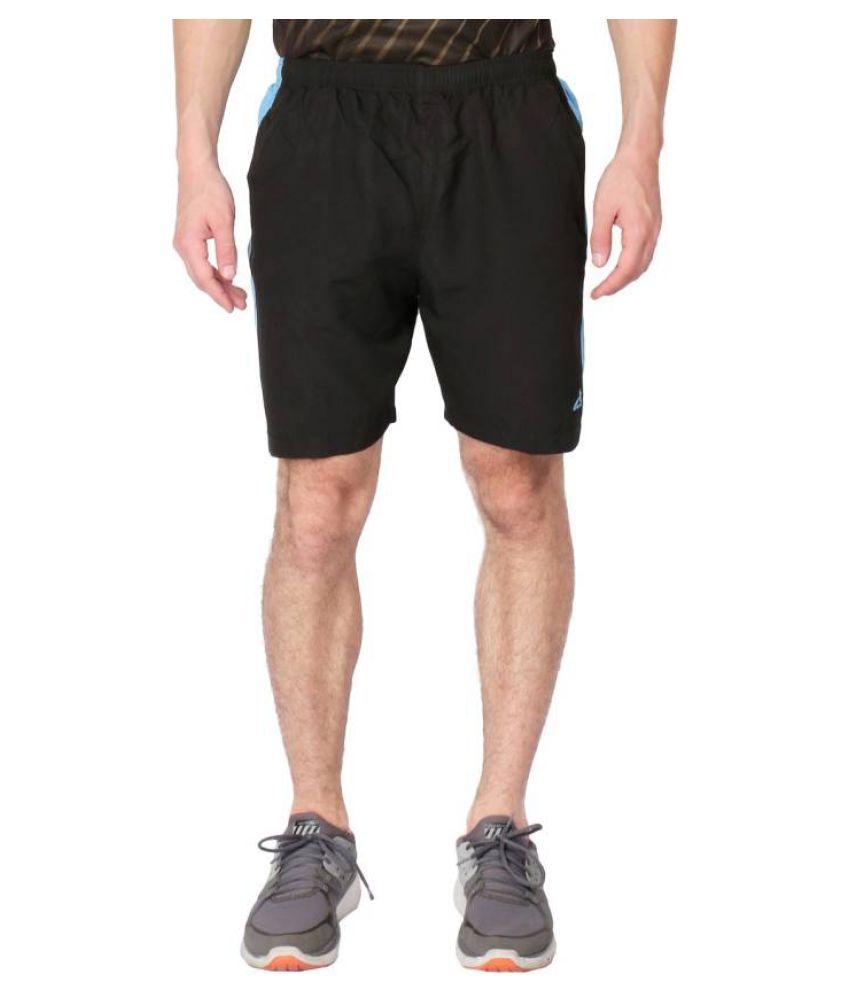 Vector X Solid Men's Blue Sports Shorts