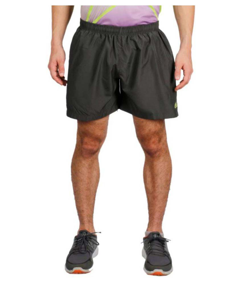 Vector X Solid Men's Grey Sports Shorts