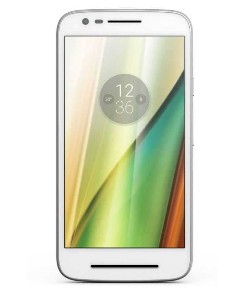 Motorola E3 Power 16GB White