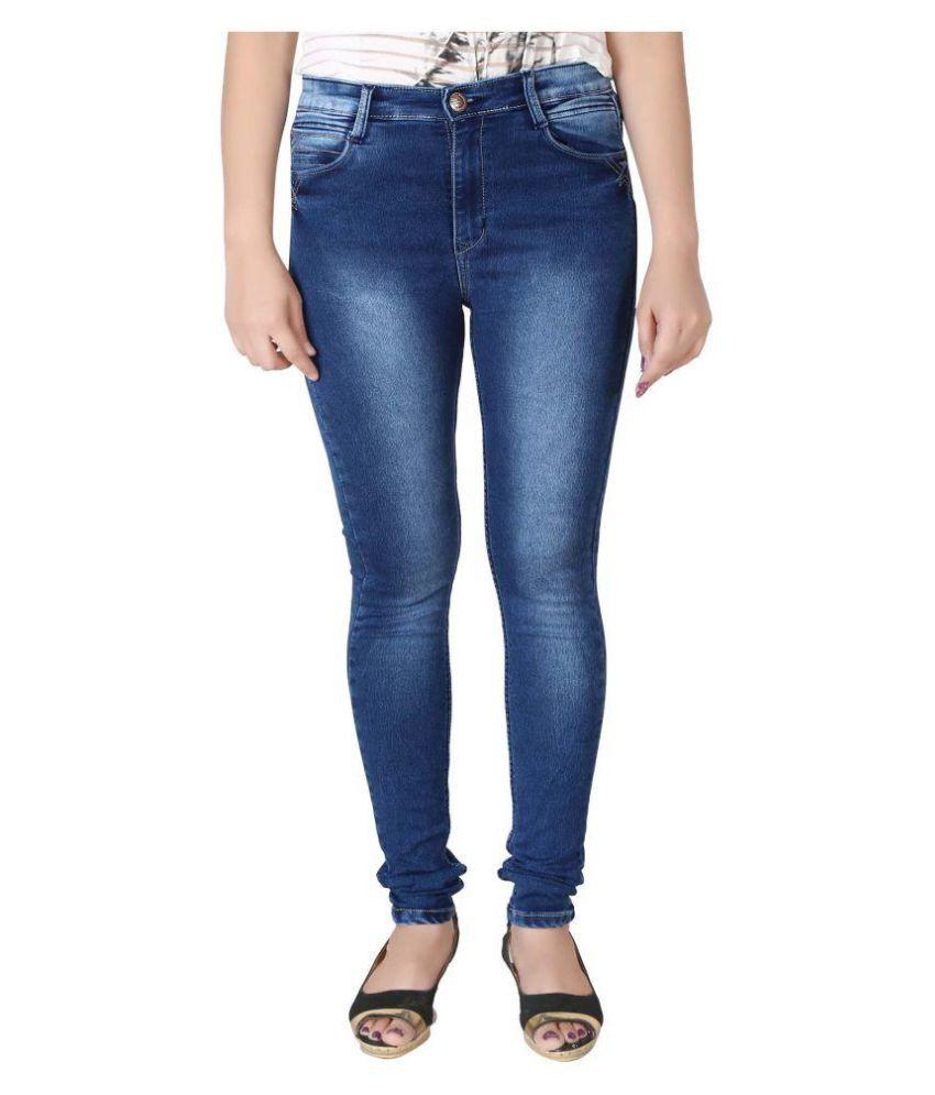 Prankster Denim Lycra Jeans