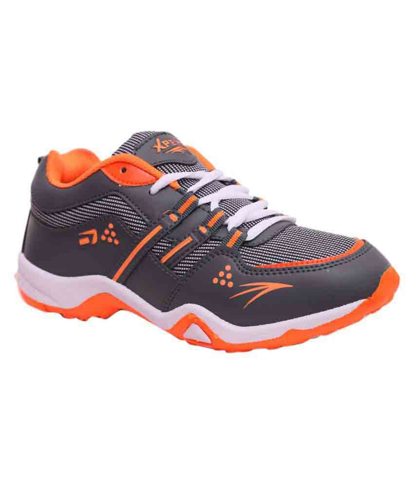 Xpert Gray Running Shoes