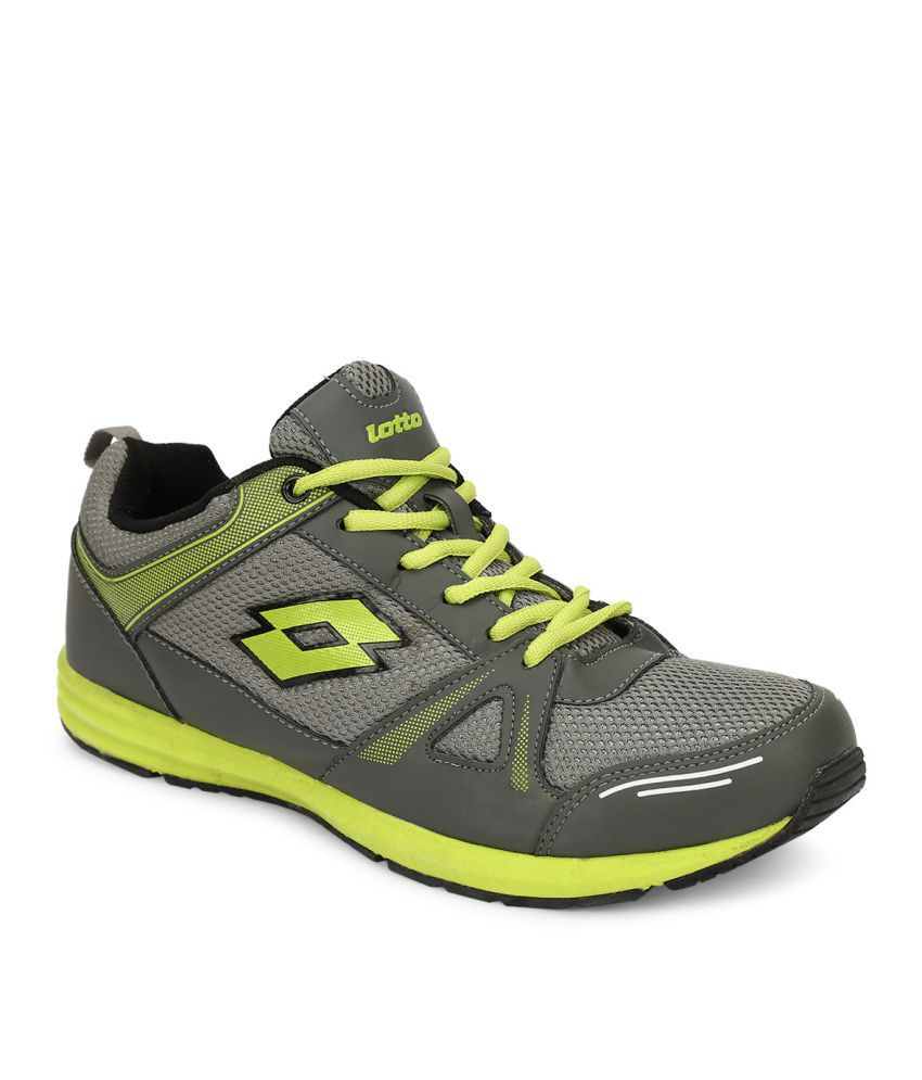 Lotto HURRY Gray Running Shoes