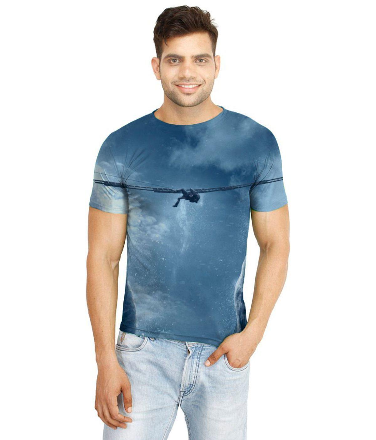 Flingr Multi Polyester T-Shirt Single Pack