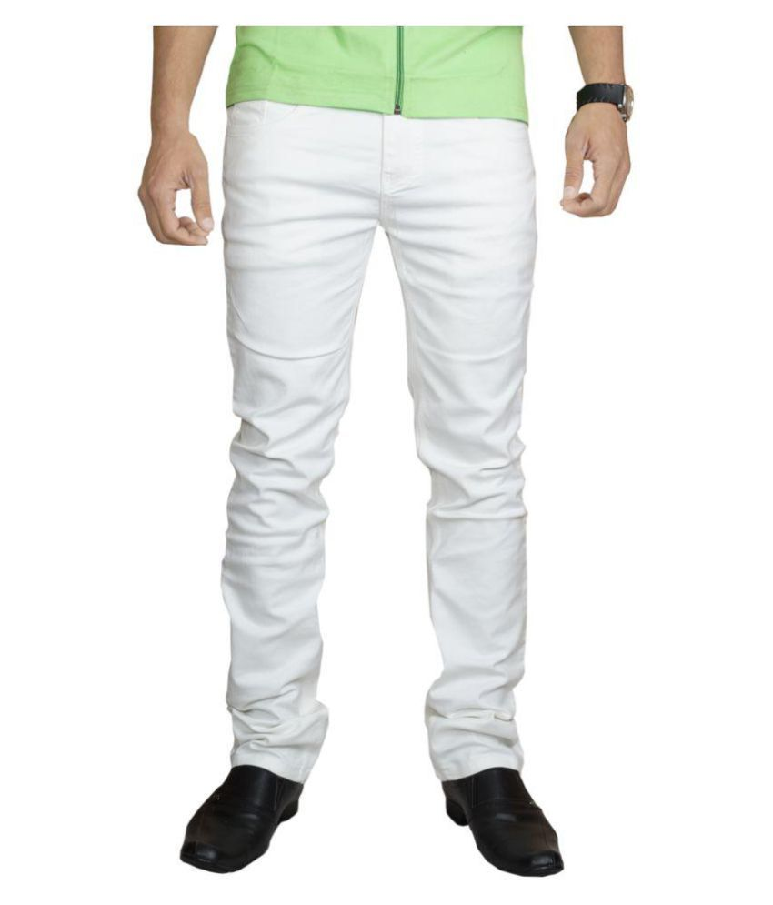 Lawson White Skinny Jeans