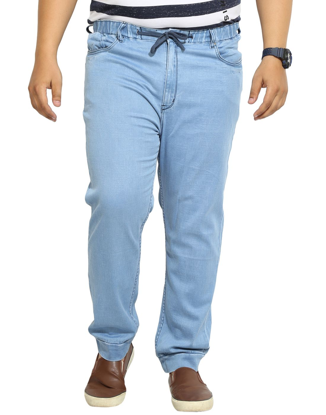 John Pride Light Blue Slim Jeans